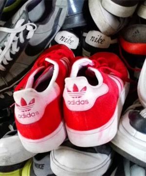 Használt női cipők és csizmák nagykereskedése